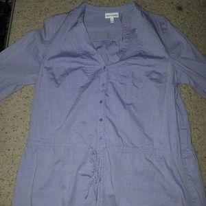 Purple Fashion Bug tunic top, L.